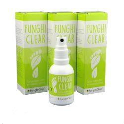 FunghiClear aanbieding anti-schimmelspray tegen voetschimmel, nagelschimmel, kalknagels