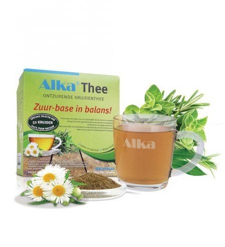 alka thee, basische thee, ontzuren
